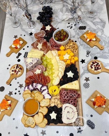 New Year's Eve Cheese Plates
