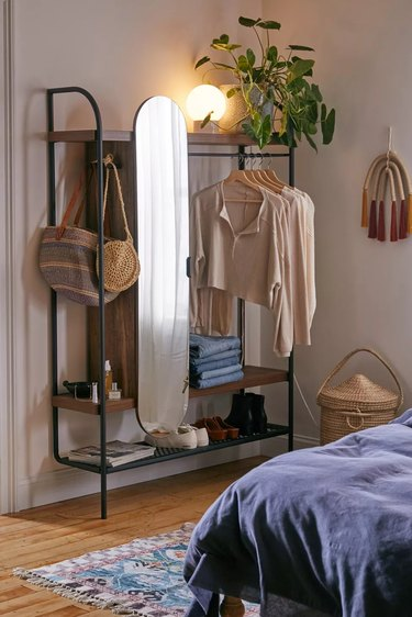 Urban Outfitters Wall-Mounted Wardrobe