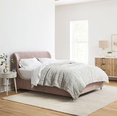 West Elm Lana Upholstered Storage Bed