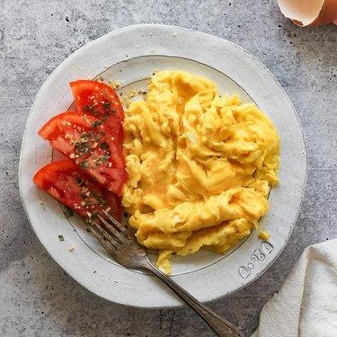 Martha Stewart's 1-Ingredient Egg Hack Makes 'the Best Scrambled Eggs'