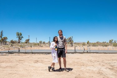 Couple in Yucca Valley