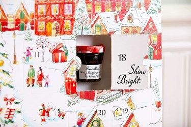 bonne maman advent calendar fruit spread jar