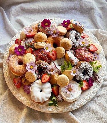 donut charcuterie