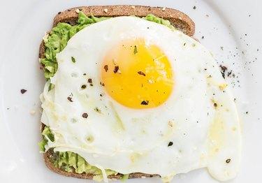 Fried egg hack