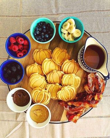 waffle charcuterie