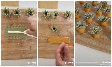 how to make succulent pasta tiktok