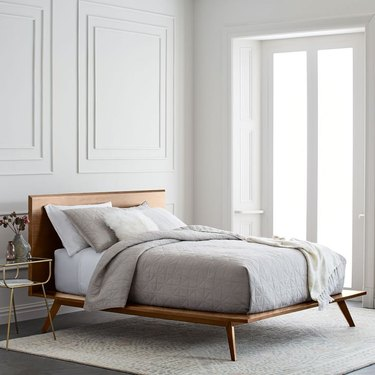 midcentury Platform Bed