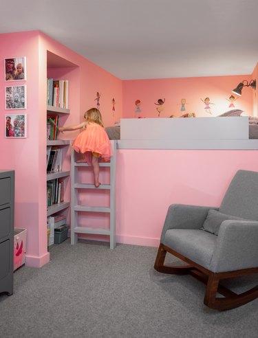 The daughter's bedroom.