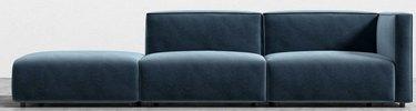 Modular Sofa with Open End