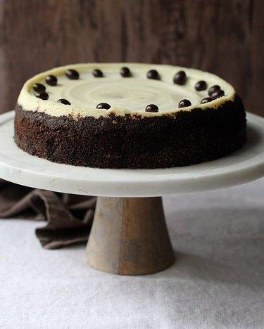 Chai and Churros Cappuccino Cheesecake