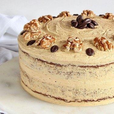 Gluten-Free Alchemist Coffee and Walnut Cake