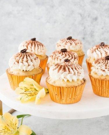 Little Sweet Baker Tiramisu Cupcakes