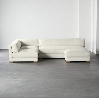 4-piece modular full sofa sectional