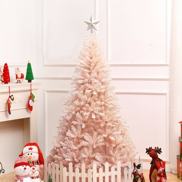 the best pastel holiday decor ideas