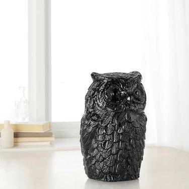 black owl decoration