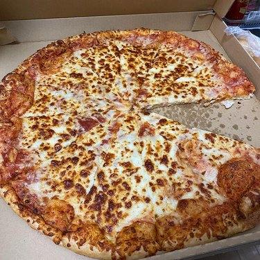 costco pizza in box