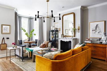 living room chandelier with matching sconces