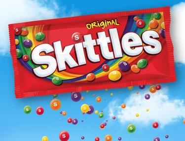 skittles original pack in sky