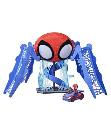 Spidey and His Amazing Friends Web Quarters Play Set