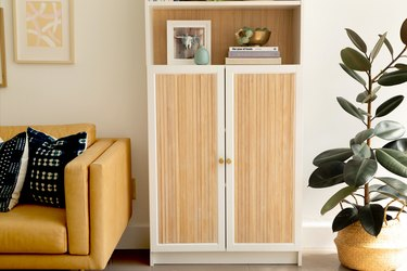 Ikea Hack BILLY Bookcase with fluting