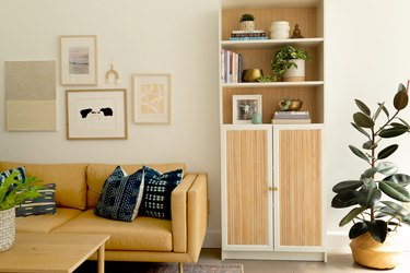DIY Ikea Hack Fluted Billy Bookcase