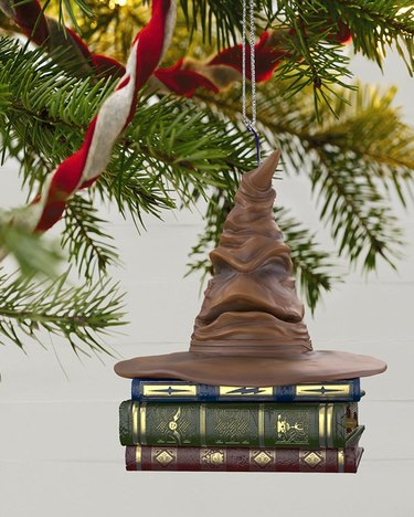 Hallmark Harry Potter Sorting Hat Ornament With Sound and Motion