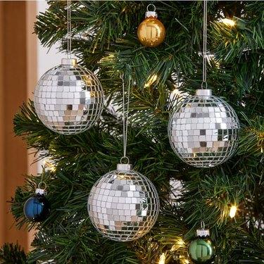 West Elm Disco Ball Ornament