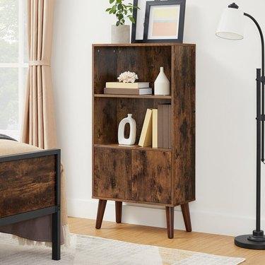 Wethersfield Steel Standard Bookcase, $123.99