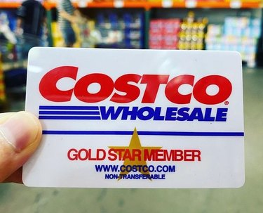 costco gold star membership card