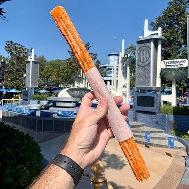 Pumpkin Spice Churro at Tomorrowland Churro Cart