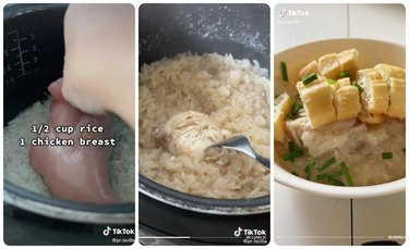 How to cook chicken in a rice cooker