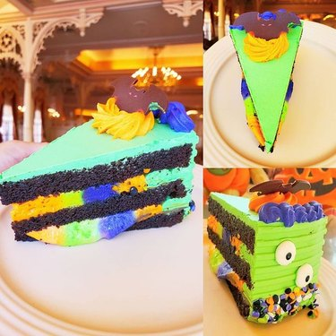 Halloween Cake at Plaza Inn