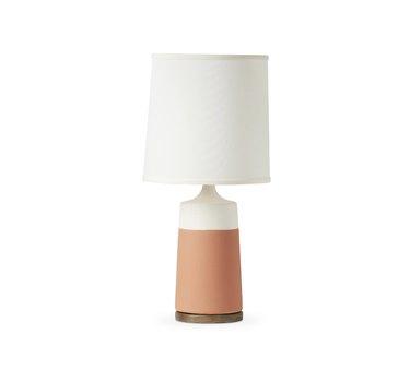Light terracotta lamp