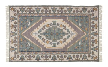 Soft colored rug