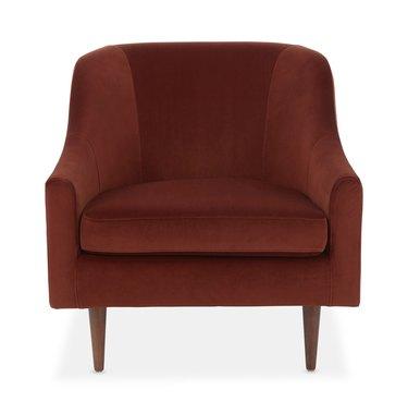 Sienna velvet chair