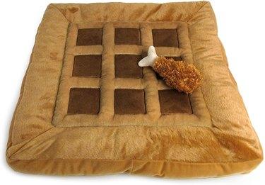 Tonbo Soft Plush Waffle Pet Bed