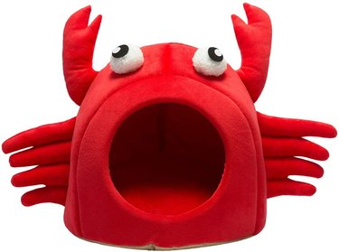 Hollypet Self-Warming Crab Pet Bed