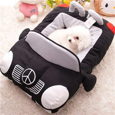Colorful House Car Pet Bed