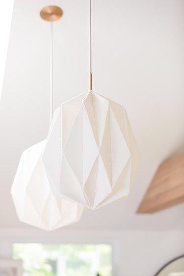 white Scandinavian lamp pendants