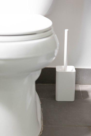 white toilet bowl cleaner