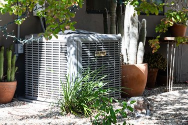 An air conditioner, which costs about $4,000 – $15,000 to install