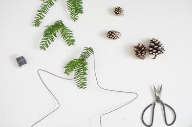 Wire Holiday Wreaths