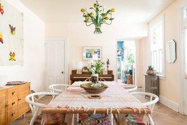 grandmillennial style dining room