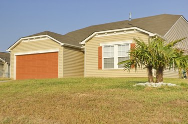 New Southern Middle Class Ranch Style Home
