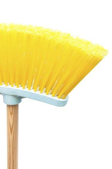brush the floor