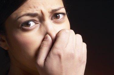 Gross smell