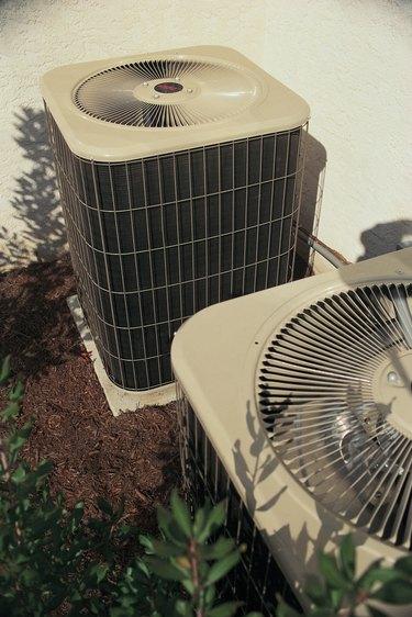 Central AC compressor unit.