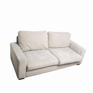 Close up of a sofa
