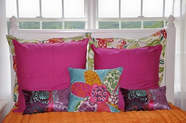Home Decor Series: Girls Bedroom Bedding with Decorative Pillows
