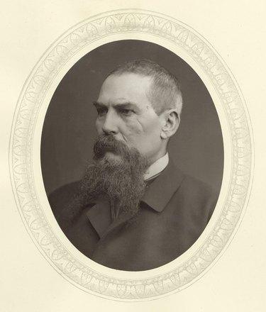 Portrait of English explorer Richard Francis Burton